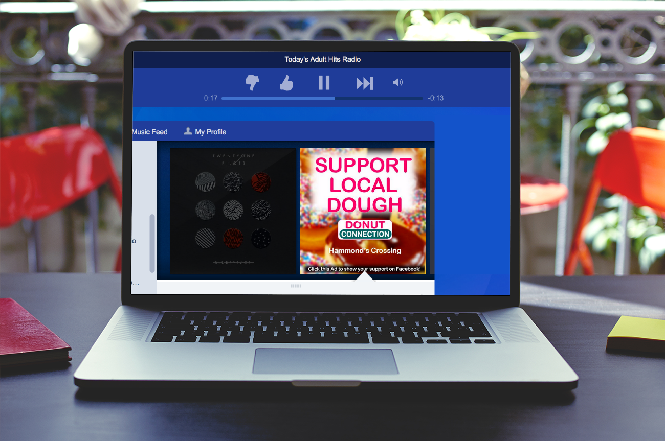 Donut Connection Pandora Ad