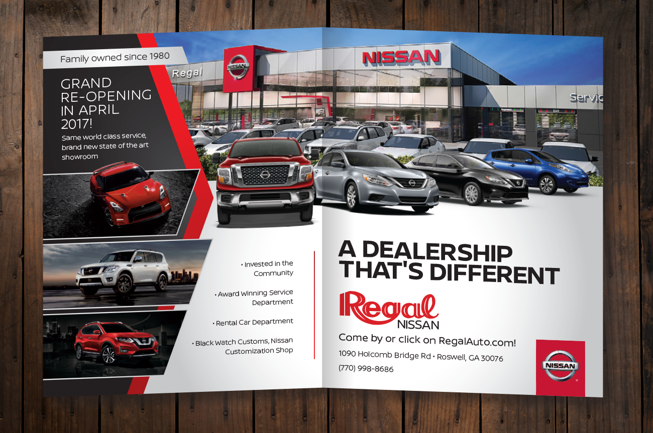 Regal Nissan Print Ad Conquest Strategic Marketing